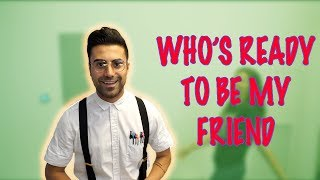 Trying To Get Friends as a Nerd! **PUBLIC PRANK**