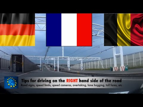 Driving In FRANCE And EUROPE - Speed Limits, Motorway And Road Signs