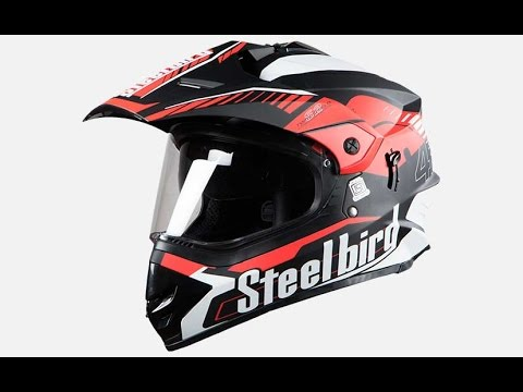 5703f17b Steelbird SB 42 Bang Airborne Helmet - YouTube