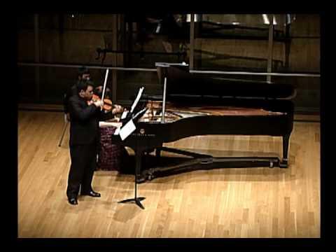 Bartok Sonata no. 1 for violin and piano, III. Allegro molto part 1