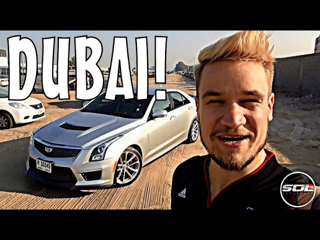 DRIVING THE CADILLAC ATS-V IN DUBAI!