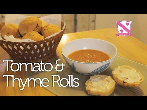 Sun Dried Tomato & Thyme Roll Recipe