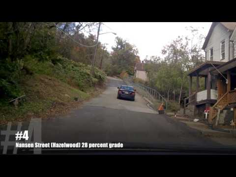 These are the 5 steepest streets in Pittsburgh