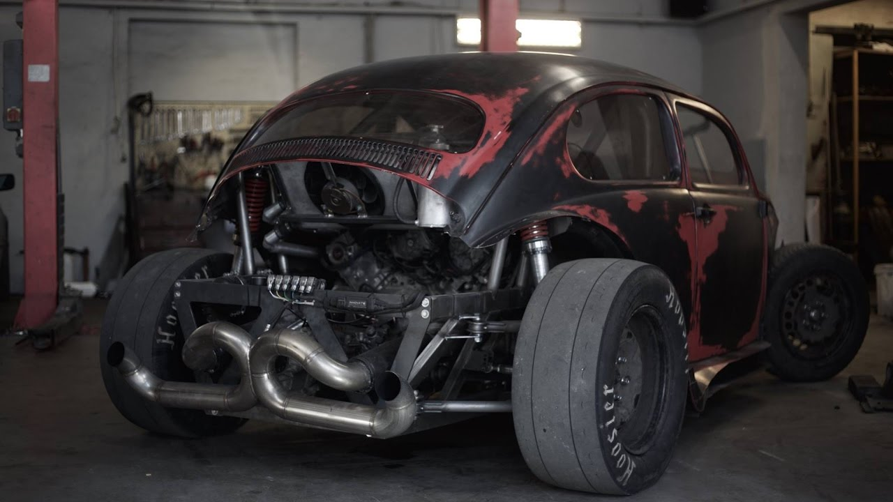 V8 swapped Beetle from Hell | 4K