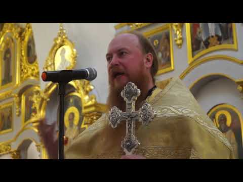 Отец Дмитрий Рощин проповедь 17 11 2019