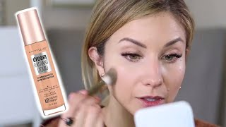 drugstore Foundation Review  NEW Maybelline Dream Radiant Liquid