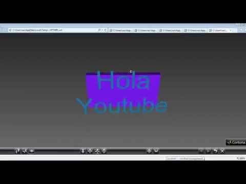 Tutorial 3 VRML - Curso sobre VRML formas de texto