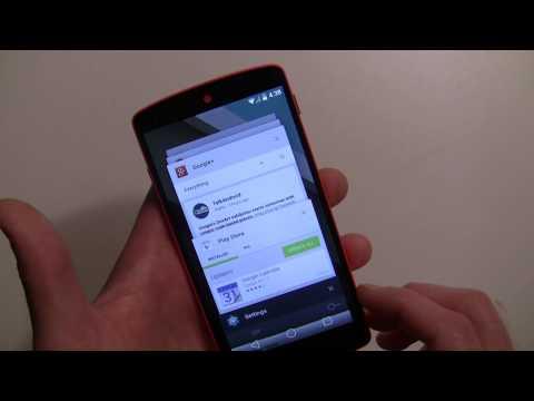 Android L Developer Preview walkthrough
