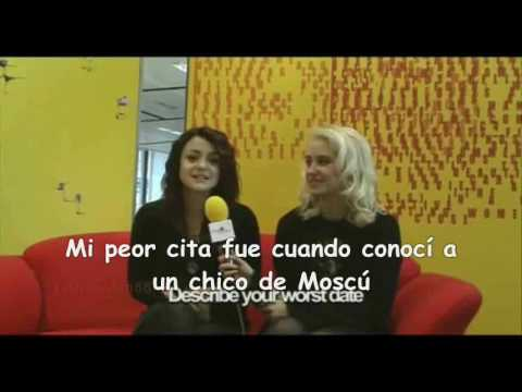 Lily and Kat - Valentine's day interview (spanish subtitles)