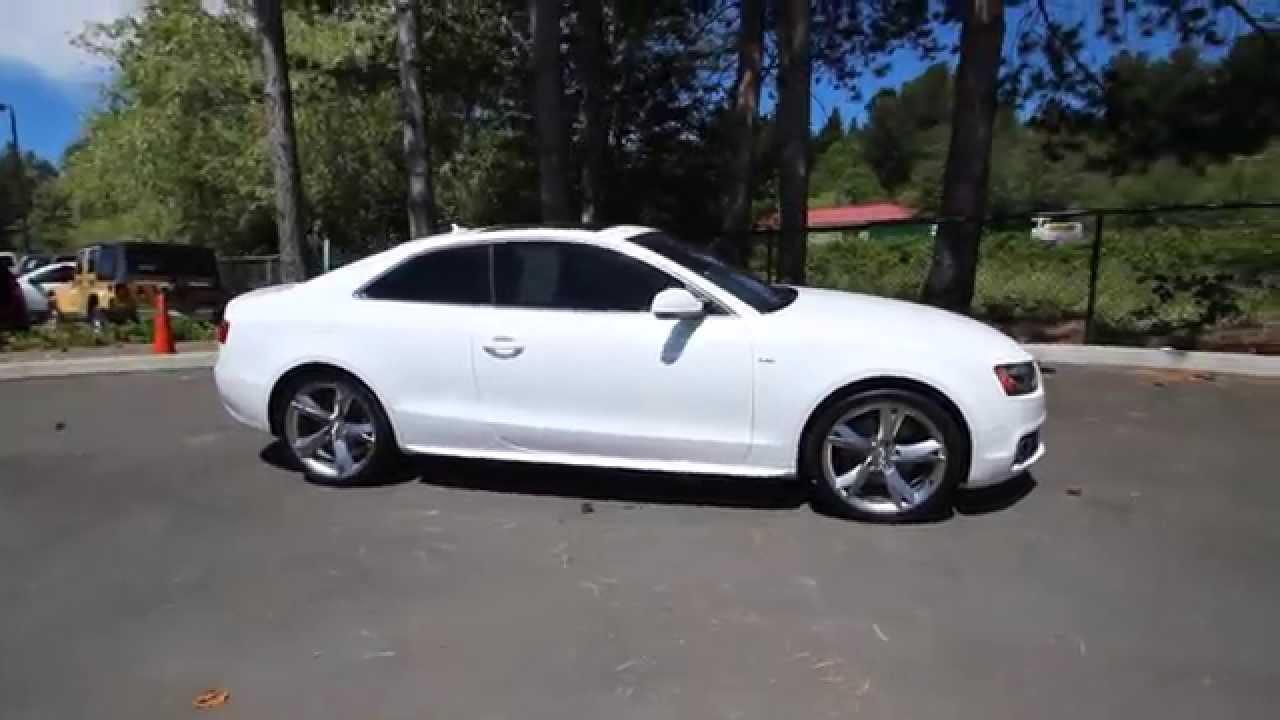 2011 Audi A5 2 0t Prestige S Line Quattro Ibis White
