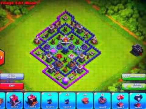 X Bow Clash Of Clans clash of clans town ha...