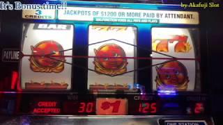 DIAMONDS Devils $1 Slot Machine [Triple Stars] [Bonus Game] [Pechanga] [アカフジ] [カルフォルニア] [カジノ] スロット