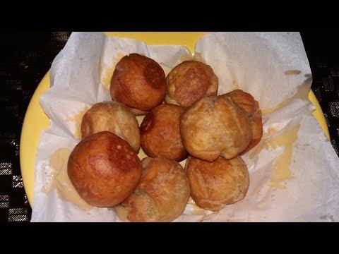 Ripe Plantain Fried Dumplings