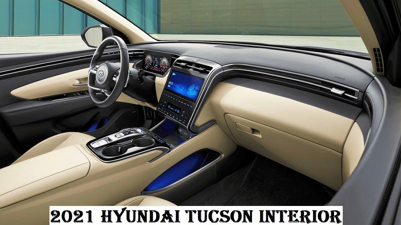 Fourth-generation 2021 Hyundai Tucson Interior - YouTube