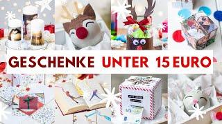 SO EINFACH! 15 DIY-Geschenke unter 15 € - Wichtelgeschenk für Kollegen, Nachbarn, Freunde, Bekannte