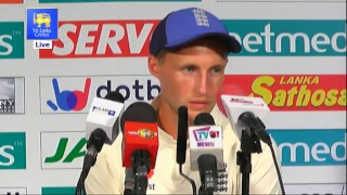 2nd Test : Day 3 Post Match Media Conference - England tour of Sri Lanka 2018