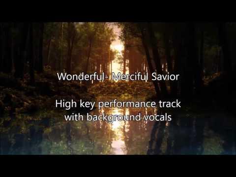 wonderful merciful savior (Instrumental + Background Vocals)