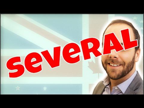 Aprende a pronunciar SEVERAL en inglés