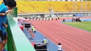 106年臺中市東亞青年盃全國中學田徑錦標賽 100公尺 預賽
