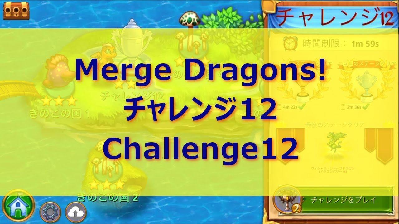 チャレンジ12 マージドラゴンズ