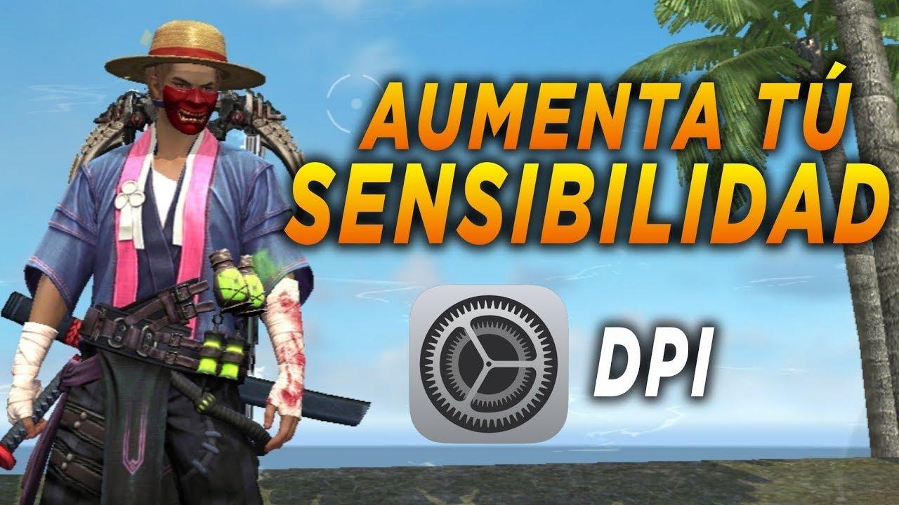 COMO ACTIVAR EL DPI EN FREE FIRE |Inka PE|