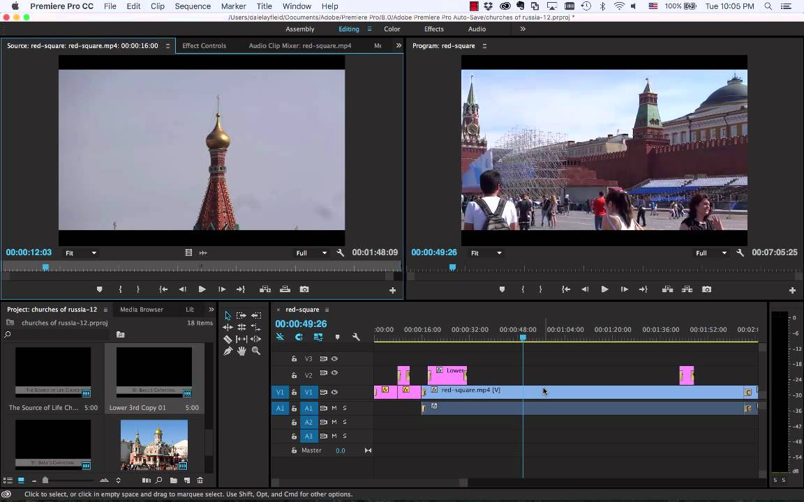 How To Add Text to Video Tutorial   Adobe Premiere Pro CC ...