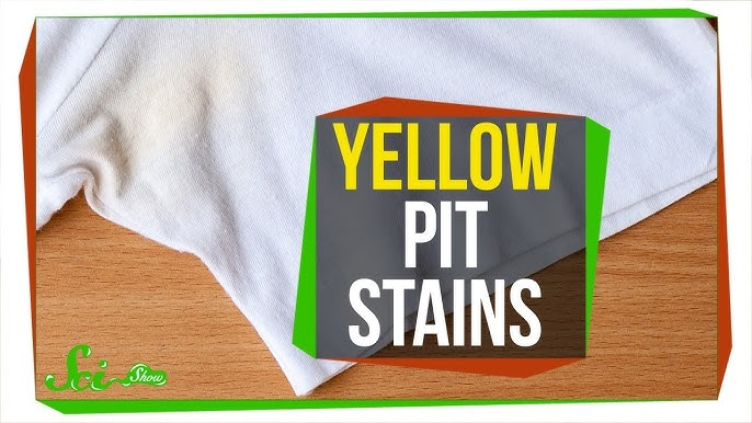 How To Get Rid Of Sweat Stains In Public