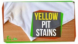 汗によって白い服に黄色いシミができる理由
