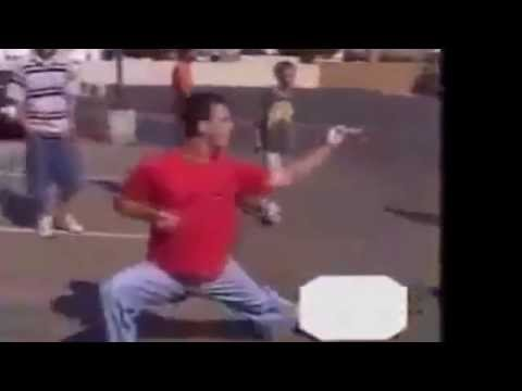 Gangster Gets Dropped By Karate Kid !! SICKK..