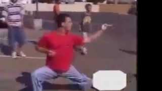 Gangster Gets Dropped By Karate Kid !! SICKK..