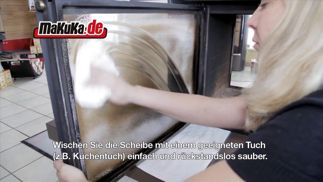 Bevorzugt Scheibenreiniger für Ofen und Kaminglas - YouTube VY75