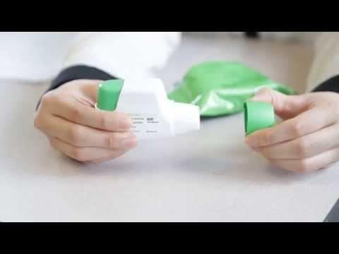 COPD Inhaler Techniques Video Korean Genuair