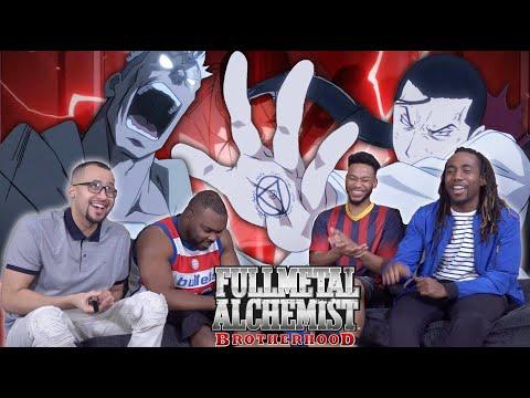 Scar vs Kimblee! Full Metal Alchemist Brotherhood Episode 33 REACTION/REVIEW