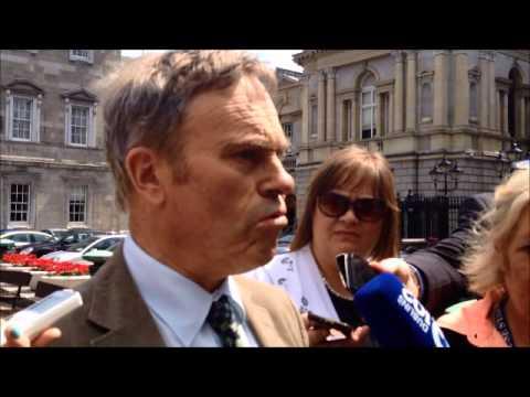 Robert Dowds is angry at Colm Keaveney