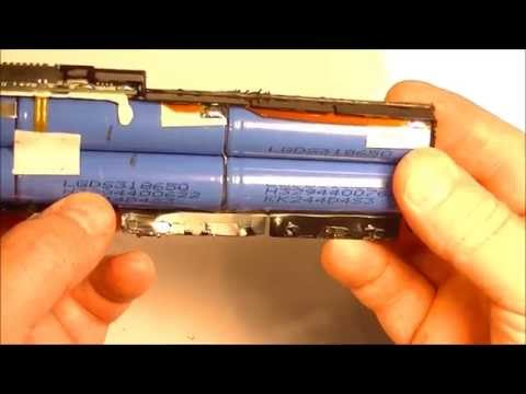 18650 Lithium-Ion Battery Harvesting From Old Laptop Battery Pack