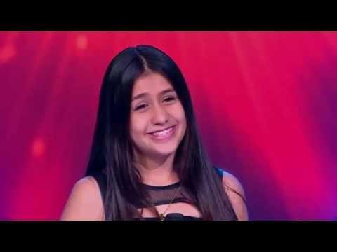 María F. Cantó Me Nace Del Corazón De Juan Gabriel - LVK Col - Audiciones A Ciegas - Cap 7 – T2
