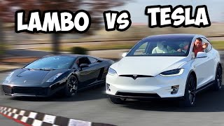 Download If You Beat My Tesla In A Race... You Get To Keep It! Mp3 and Videos