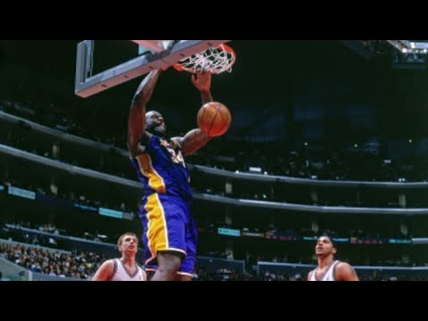 Shaquille O'Neal 60 Points, 28 Rebounds vs Los Angeles Clippers Highlights (3-6-2000)