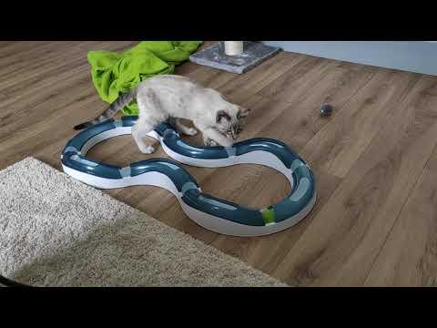 Catit Design Senses Super Roller - Circuit de jeu chat