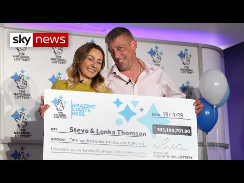 EuroMillions: Builder With Three Kids Wins £105m