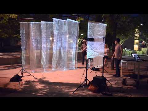 Interactive Art Installation: UNM Arts Unexpected 2015