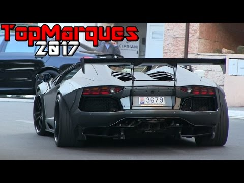 BEST OF SUPERCAR SOUNDS | TOP MARQUES MONACO 2017