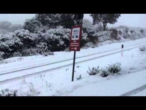Neve a Padru 12 febbraio 2012