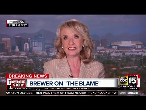 Former Arizona governor Jan Brewer defends Donald Trump post Charlottesville comments