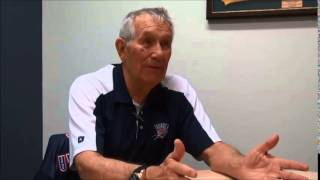 Coach Dr Jim Poteet on the development of Basketball and coaching