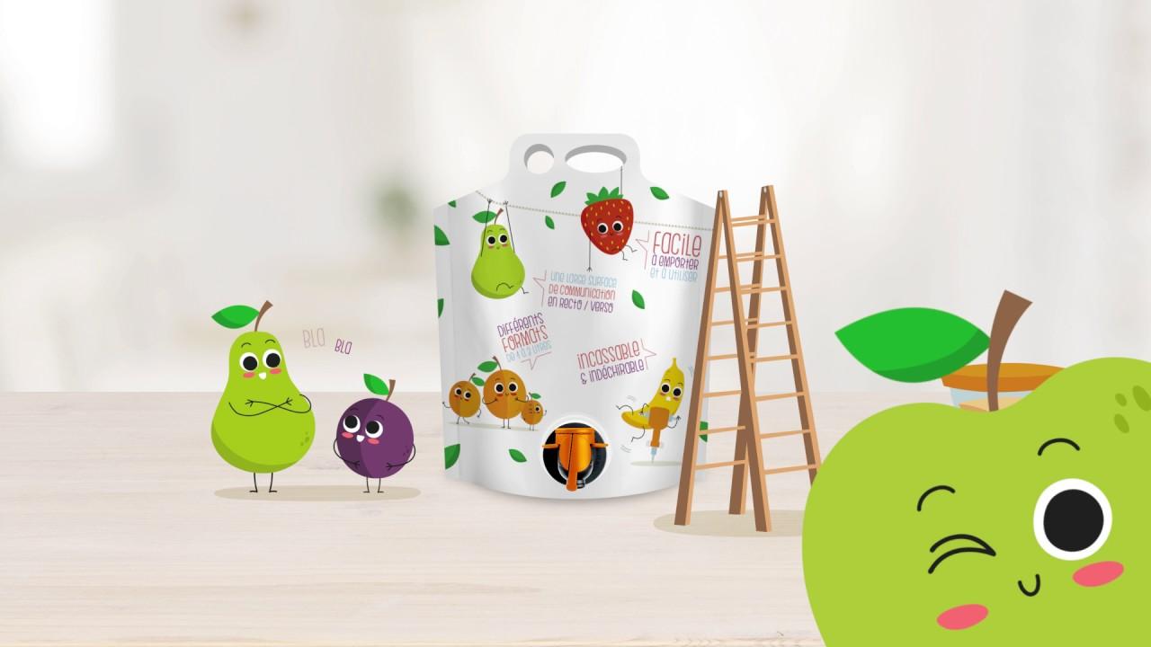 smurfit kappa pouch up un emballage innovant qui prolonge la conservation des jus de fruits. Black Bedroom Furniture Sets. Home Design Ideas