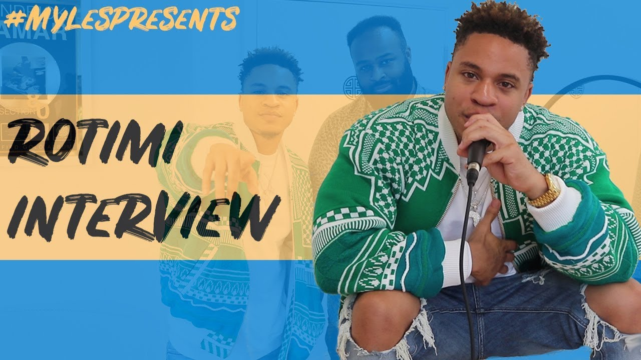 Rotimi Interview - Mentored by Jay-Z, Afrobeats in America, 'Walk With Me' & Relations