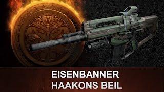 Destiny: Haakons Beil   Eisenbanner Automatikgewehr   Review deutsch