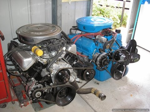 Rebuilding the V8 - The Engine of Choice; 351 Cleveland Part 1
