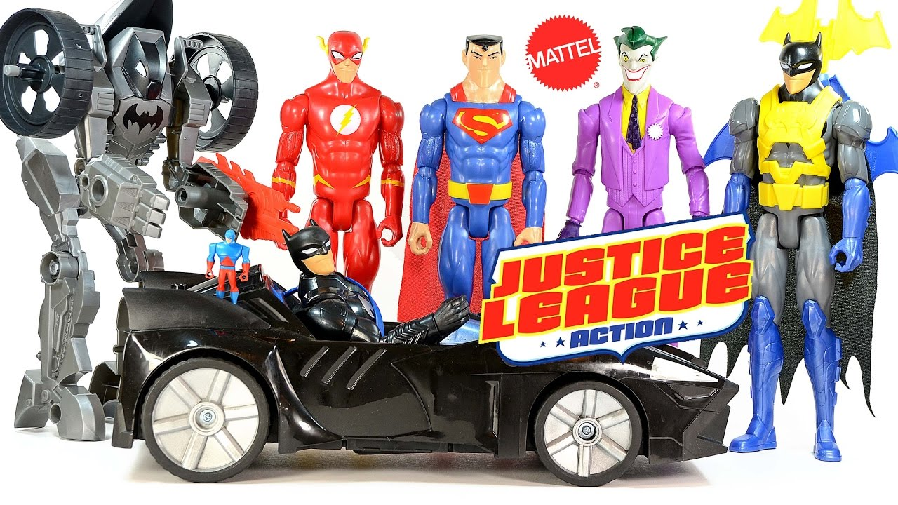 "fires projectiles 12/"" DC comics justice league twin blast batmobile toy car"